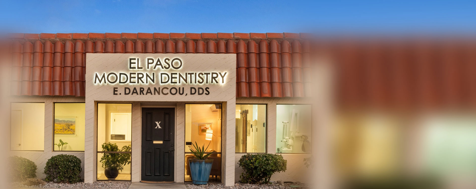 El Paso Modern Dentistry Front View