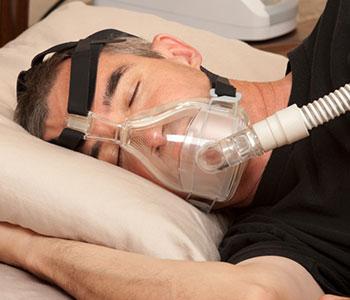 CPAP-Sleep-Apnea-machine