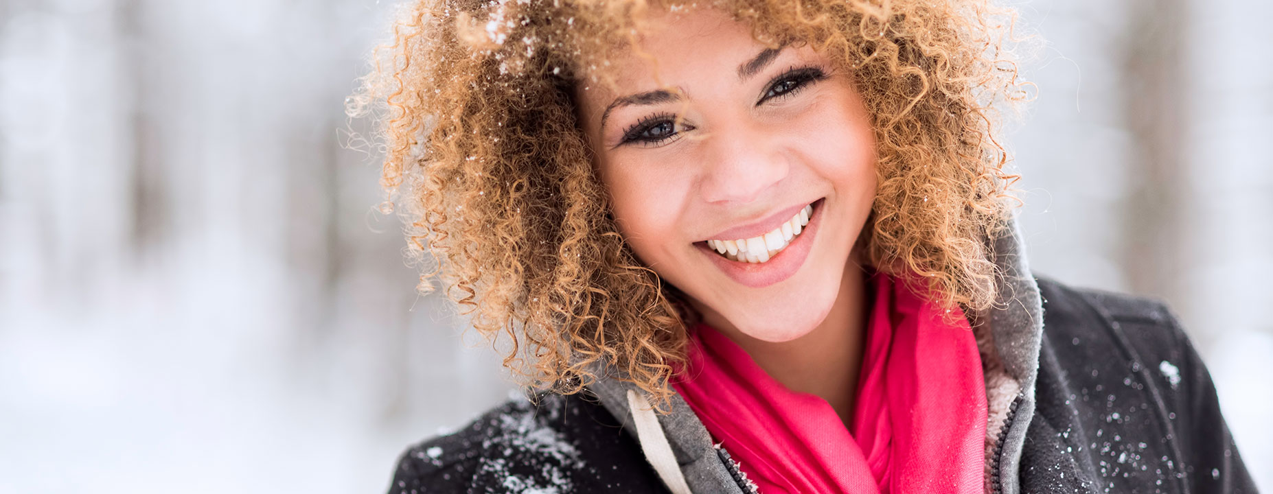 Smiling young lady